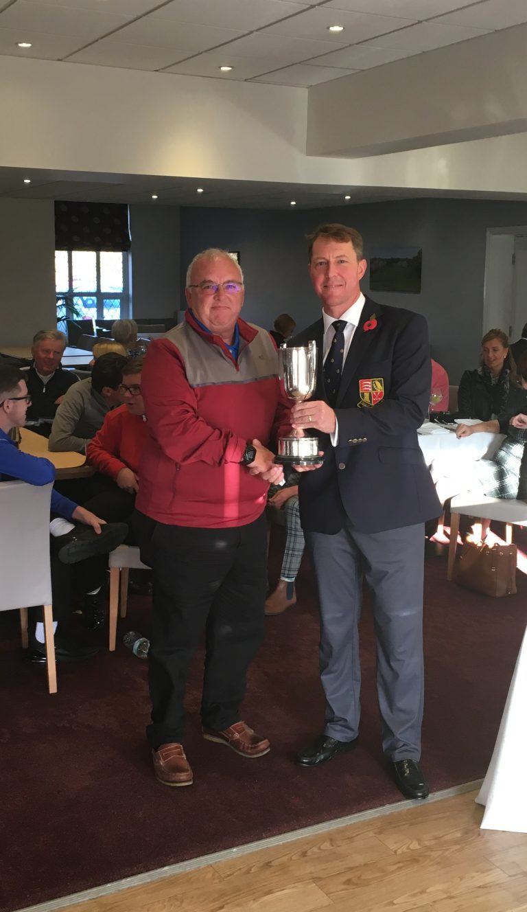 2018 Bolton Cup winner - Jim Glover