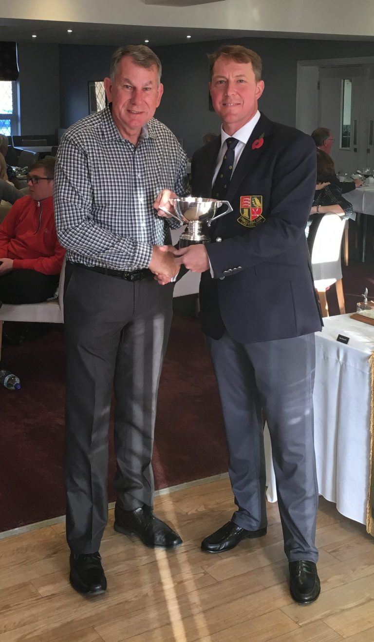2018 Club Cup winner - Norman Morgan