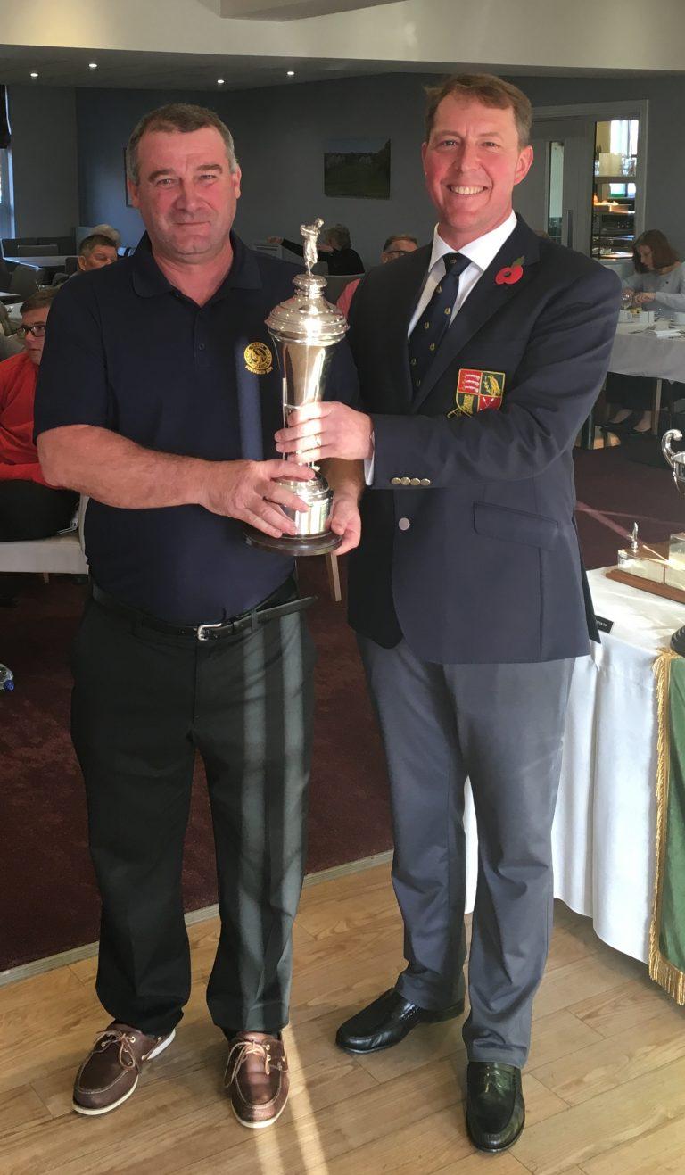 2018 Coronation Cup winner - Peter Twigg