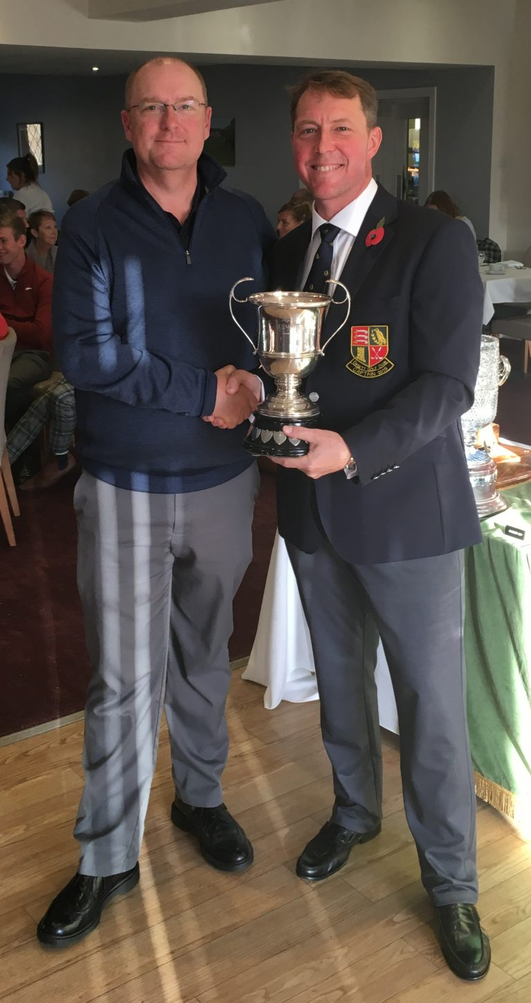 2018 Craig Cup winner - Neil Gale