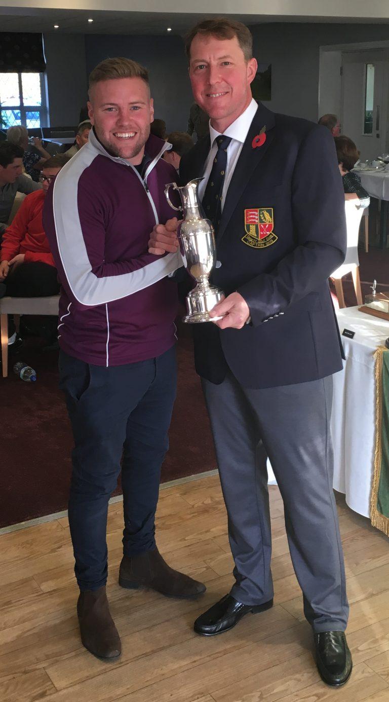 2018 Joyes Trophy winner - Joe Hunt