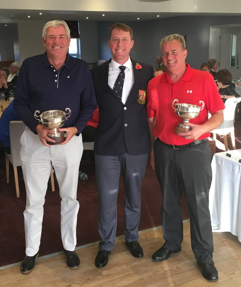 2018 Mens Foursomes winners - Peter Aves  Barry Newbery