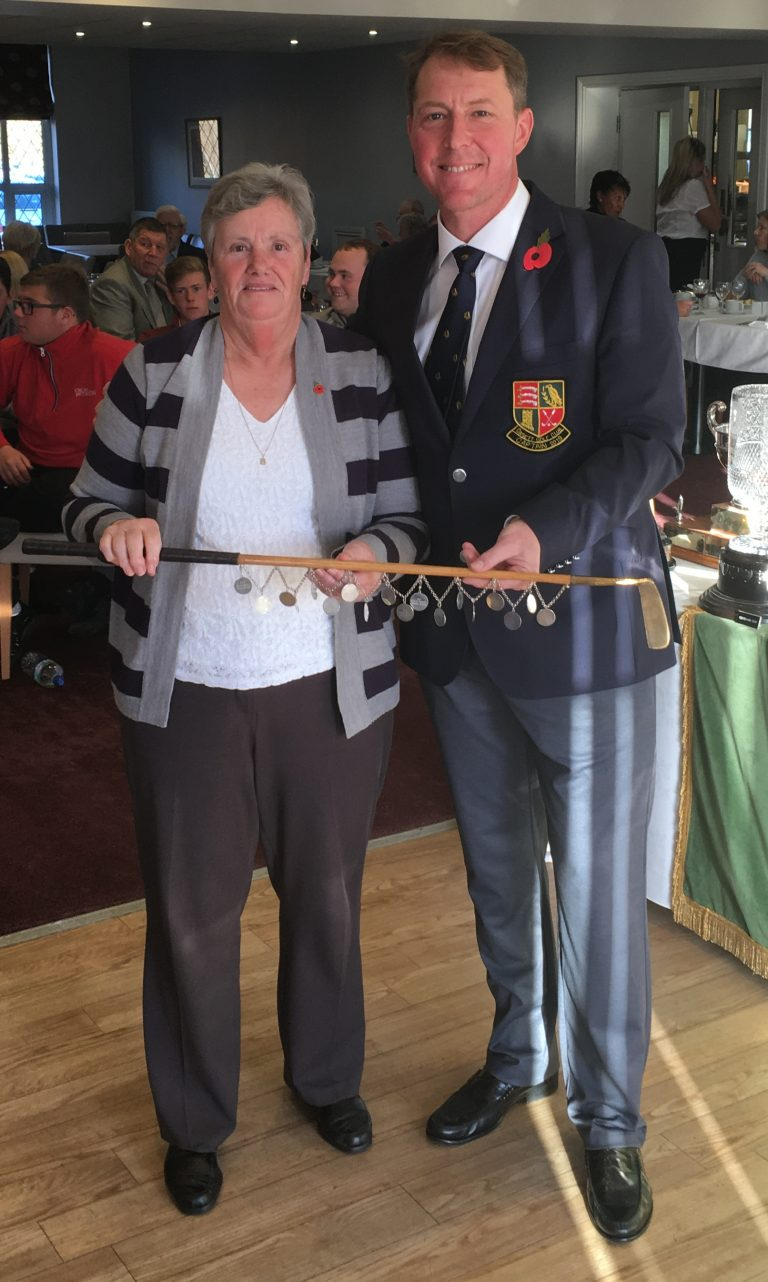 2018 Ladies President Putter winner - Bev McAnally