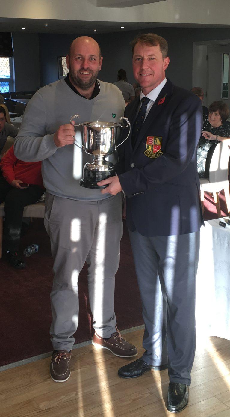 2018 Secretary Cup winner - Steve Faulkner