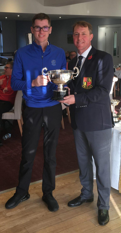 2018 Walsham Cup winner - Alfie Buttle