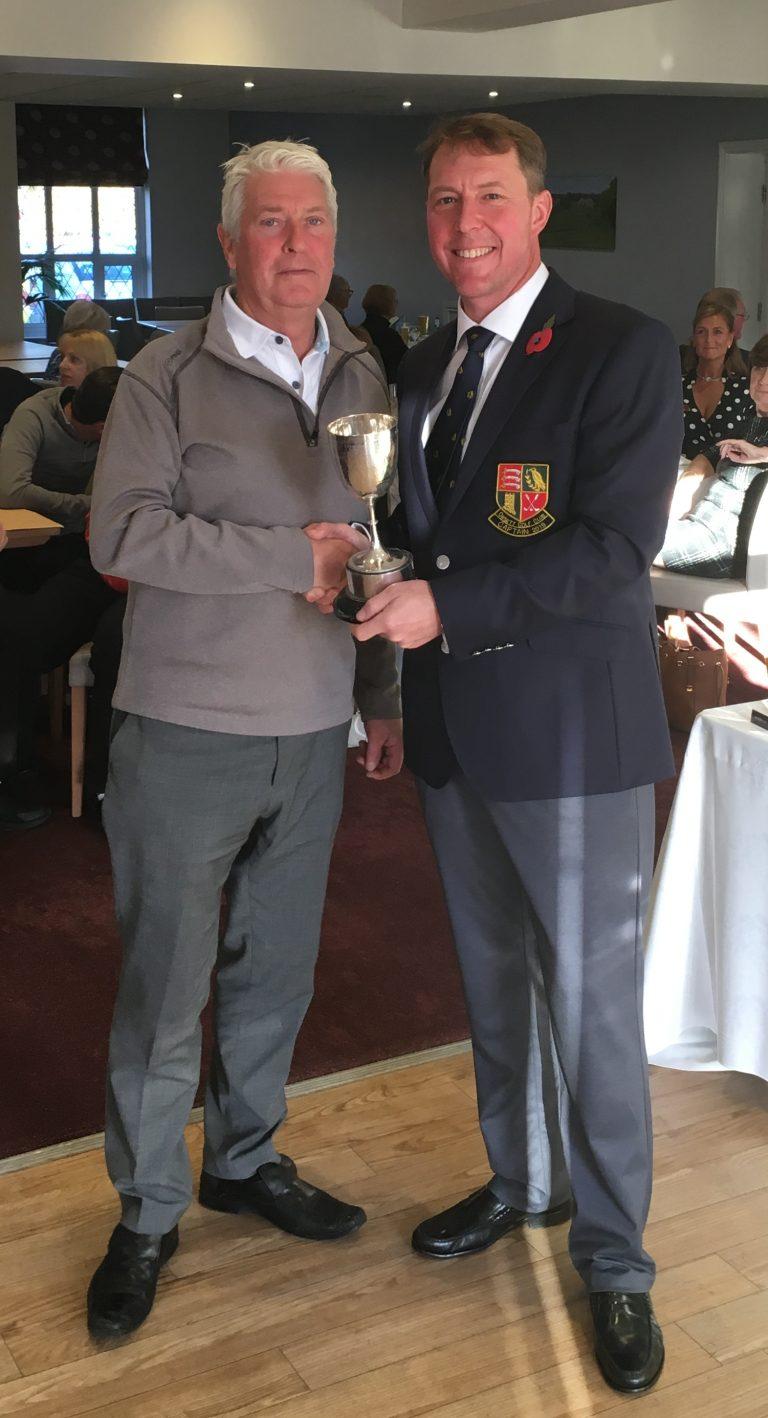 2018 Ward Cup winner - Barry Piddington