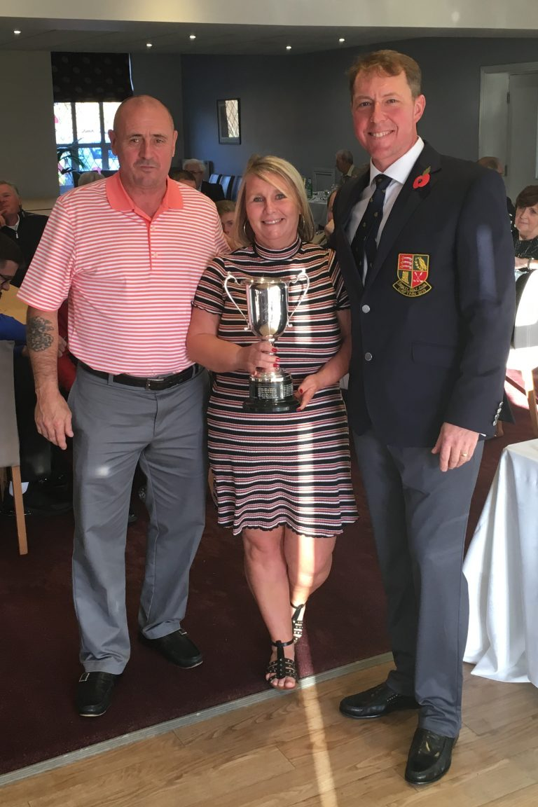 2018 Colloff Loving Cup winners - Sue and Paul Mason