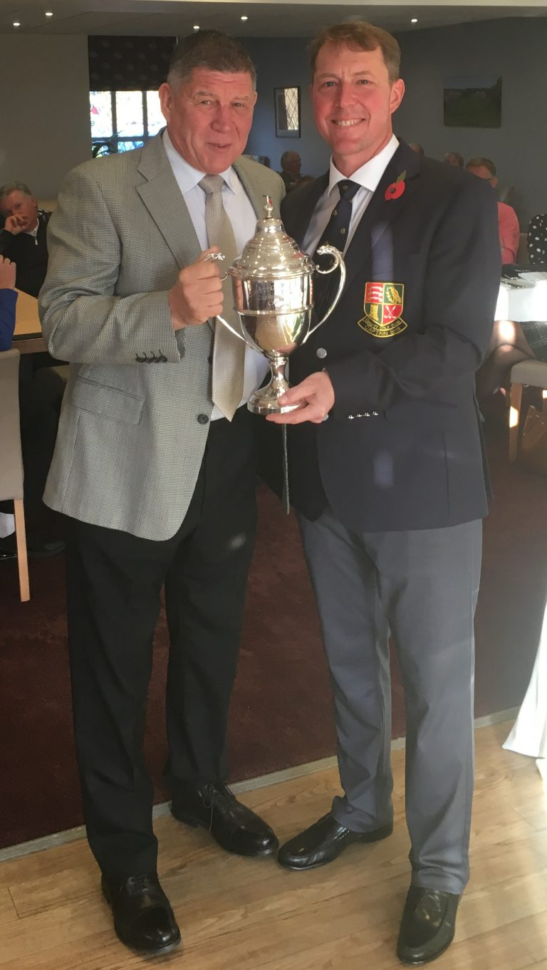 2018 Club Champion - Zach Chegwidden, collected by Zachs Grandad, David.